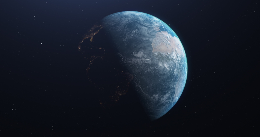 View earth rotating planet rotating zoom rotating earth spinning planet spinning zoom spinning earth animation planet animation zoom animation earth space planet space zoom space starry background 3d  | Shutterstock HD Video #1042776214