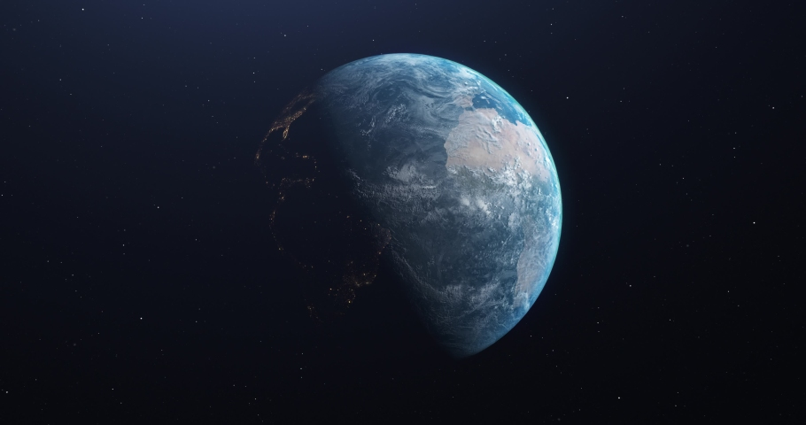 Earth rotating planet rotating zoom rotating earth spinning planet orbit spinning zoom spinning earth animation planet animation zoom animation earth space planet space zoom space orbit starry sky 3d | Shutterstock HD Video #1042776217
