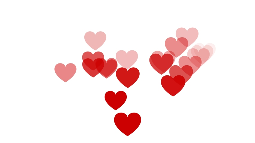 Social media background screen live style animated emoji heart social media icon. Social media icons, social media screen background. Valentine day love beautiful. | Shutterstock HD Video #1042781593