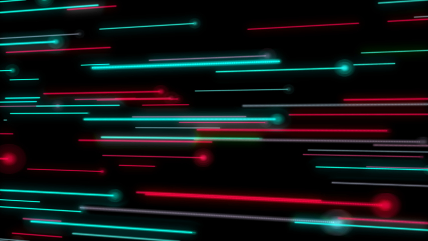 4K VJ loop disco neon lines flow space party dj background animation. Use in led screens during concert and etc. You can use as network connection global hi-tech background.Quick laser motion graphic.   Shutterstock HD Video #1042837042