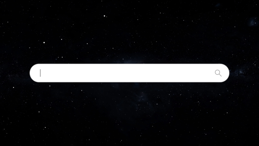 Space Search Bar  Futuristic Blank Line Text Box For Searching Database Or Web Browser | Shutterstock HD Video #1043637970