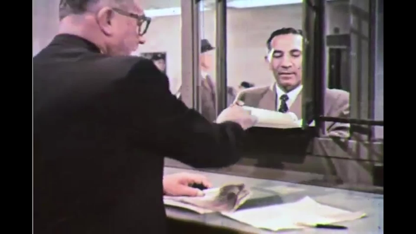 CIRCA 1960s, The Federal Reserve substitutes money for government securities