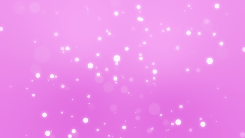 Glowing pink bokeh background with moving light particles. #1044182362