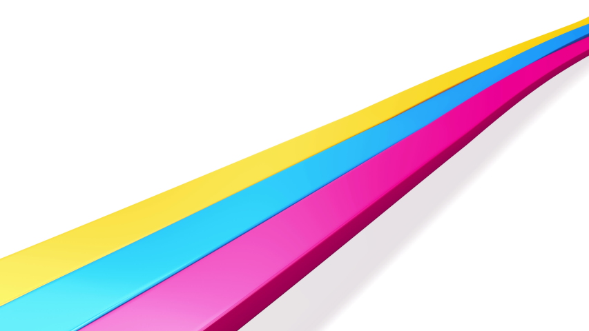 Dynamic waving colorful stripes. Loop   Shutterstock HD Video #1044702448