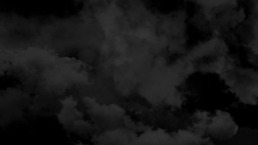 Atmospheric spooky halloween smoke seamless loop abstract magic haze and fog backgroun 4k cloud in slow motion on black 3d animation vfx element overlay with puffs slowly floating through space   Shutterstock HD Video #1044807229