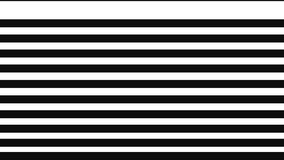 Animation of opening and closing transition.Abstract motion graphics,animated transition mask template. Black and white stripes,monochrome footage.Cyclic 4k video.Formation strips motion backgrounds.