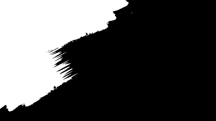 Ink paint white brush stroke transition animation | Shutterstock HD Video #1046002840