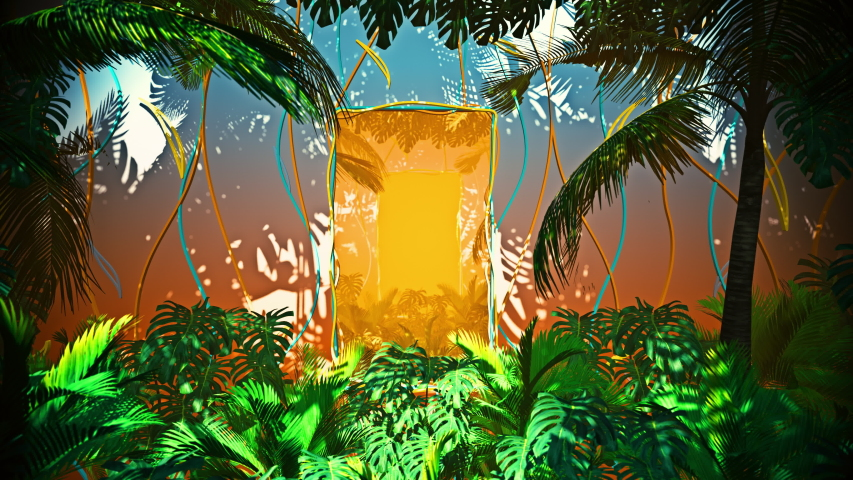 Flying In Jungle For Summer Hawai is motion footage for adventure films and cinematic in junggle scene. Also good background for scene and titles, logos.   Shutterstock HD Video #1046291674