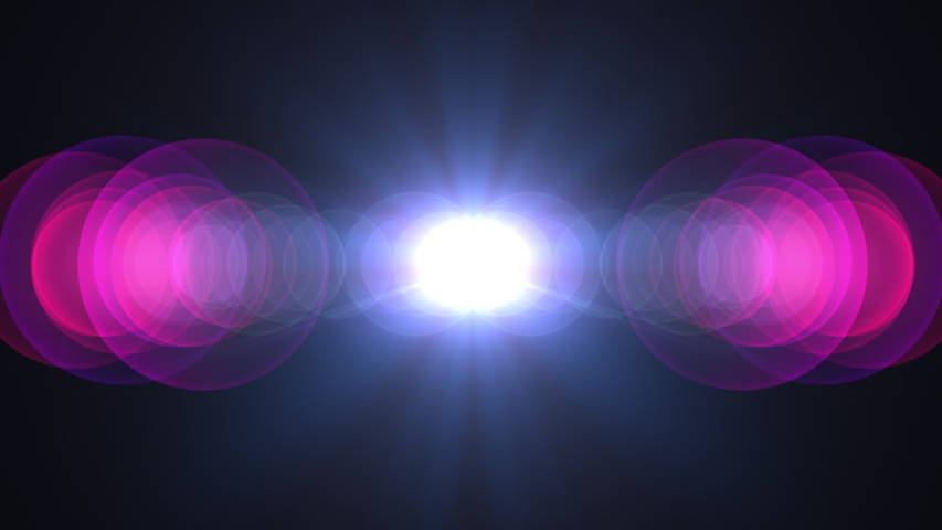 Stylized 80s retro optical lens flare effect glow in 4K resolution. Light Leak and flash lights give your footage the trendy millennial style.  | Shutterstock HD Video #1046320810