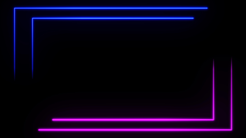 BEST abstract seamless background blue purple spectrum looped animation ultraviolet light 4k glowing neon line. Perfect for projection mapping. Includes Luma Matte to easily slot in your footage. | Shutterstock HD Video #1046495776
