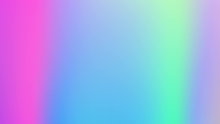 Abstract holographic gradient rainbow animation. 4K motion graphic. Trendy vibrant texture, fashion textile, neon colour, ambient graphic design, screen saver. | Shutterstock HD Video #1046806801