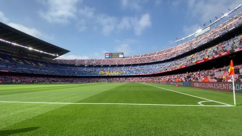 Fc Barcelona Camp Nou Stock Video Footage 4k And Hd Video Clips Shutterstock