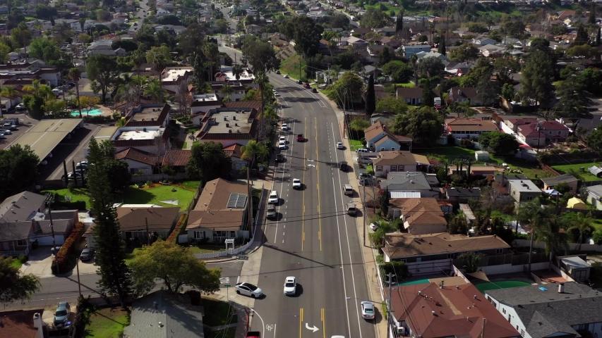 Aerial Flight Over California Suburbs | Shutterstock HD Video #1047052660