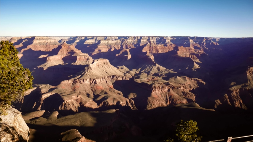 Grand Canyon timelapse from the South Rim