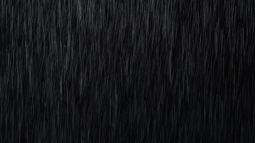 Rain Drops Falling, Real Rain, 4K Rain Footages, falling, Can use as Alpha, shower, rainfall, Seamless 4K loop video