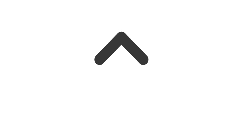 Animated arrows, upward animation with white background. Royalty-Free Stock Footage #1047077374