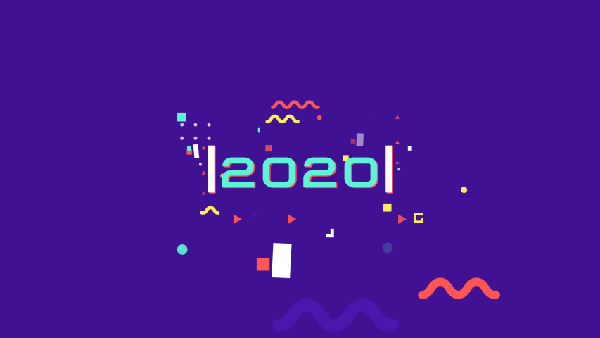 2020 Motion Graphic animation  background  | Shutterstock HD Video #1047175051