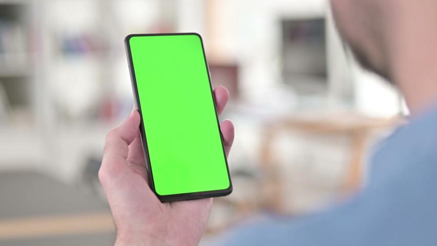 Using Green Smartphone Screen, Chroma key | Shutterstock HD Video #1047203482