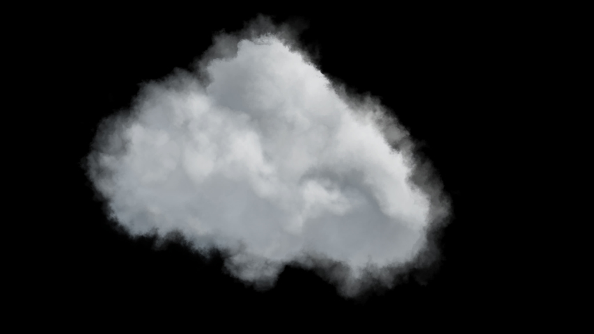 4k isolated cloud on transparent background,, ready for compositing   Shutterstock HD Video #1047297862