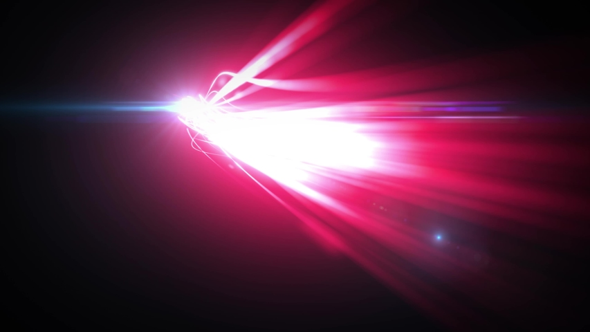 Abstract Glowing 3d Light Strokes Background/ 4k animation of an abstract background with glowing 3d light strokes with fast motion path trajectory following #1047342265