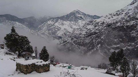 Timelapse of the Himalayas range