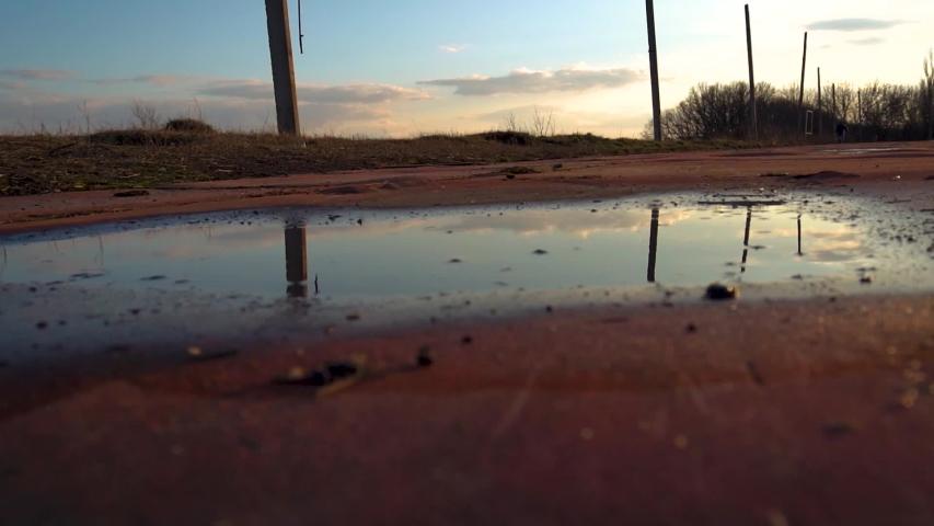 Old rubber treadmill in the sun | Shutterstock HD Video #1047742624