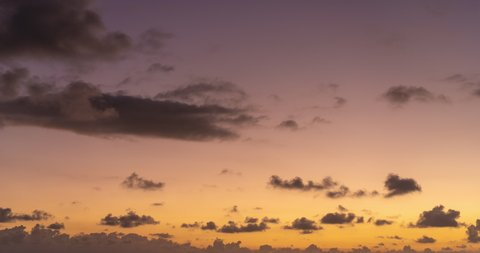 4K Time lapse, beautiful sky with clouds background