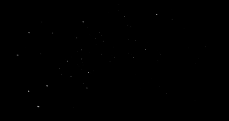 Flying dust particles on a black background | Shutterstock HD Video #1047819562