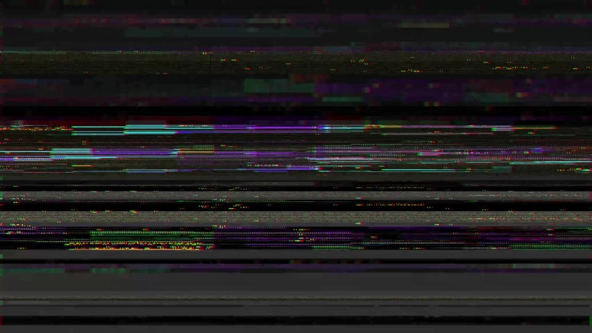 Vintage VHS (Video Home System) defects noise and artifacts effect. Glitches error from an old tape or old TV. Retrò video damaged and signal noise error with flickers. No signal tv. 4k glitch effect. | Shutterstock HD Video #1048312435