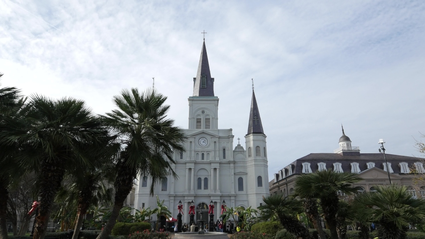 Jackson Square is a historic park in the French Quarter of New Orleans, Louisiana. It was declared a National Historic Landmark in 1960