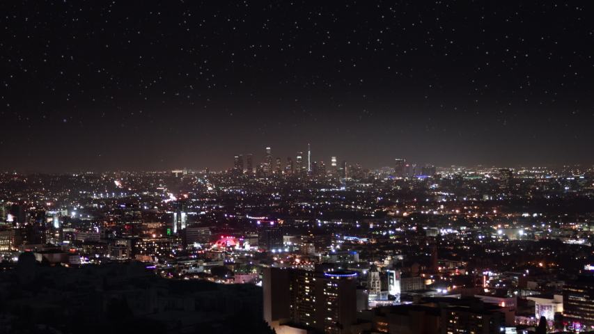 City Blackout. Power outage in large city. Energy crisis, climate change, disatsers, economic recession concept. Location: Los Angeles, California.  | Shutterstock HD Video #1049521243