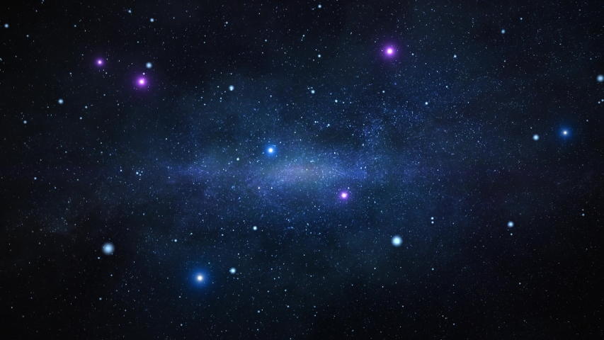 Scenic Spiral Infinite Galaxy Outer Space Travel Center Moving Stars Nebula Loop Animation. Flying In Orion Nebula Infinite Universe Galaxy, star, night, sky, dust, planet Solar System Royalty-Free Stock Footage #1049603620