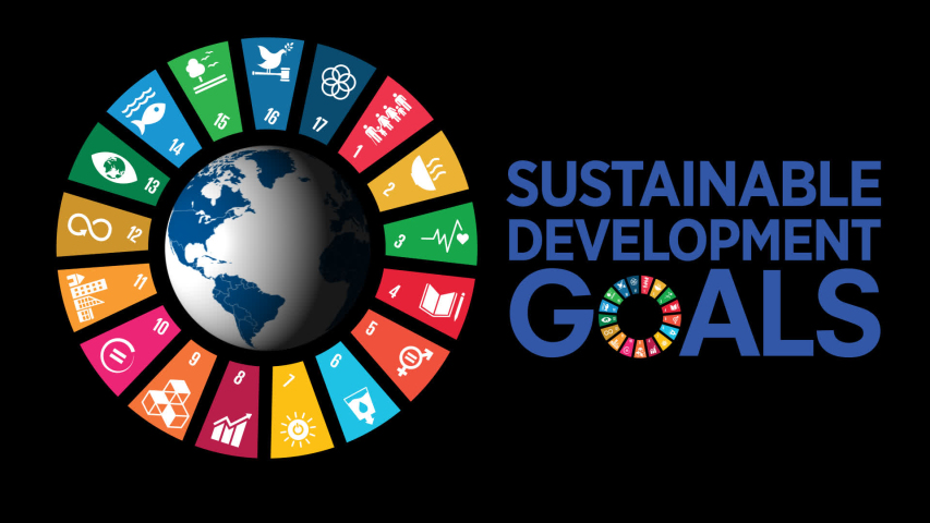 icon set  The Global Goals Corporate social responsibility Sustainable Development Goals Royalty-Free Stock Footage #1049930395