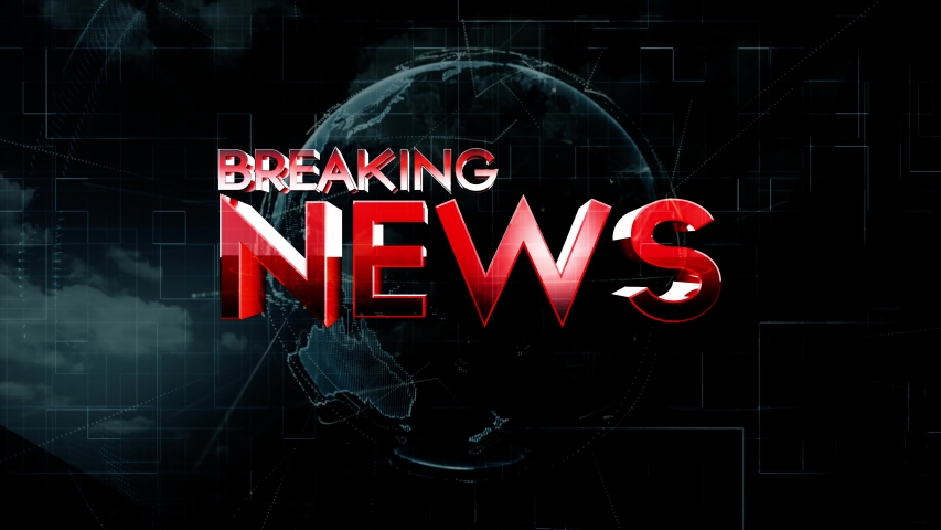 NEWS Broadcast Graphics News growth page animation News world News earth globe opening led Intro title animation   Shutterstock HD Video #1050381916
