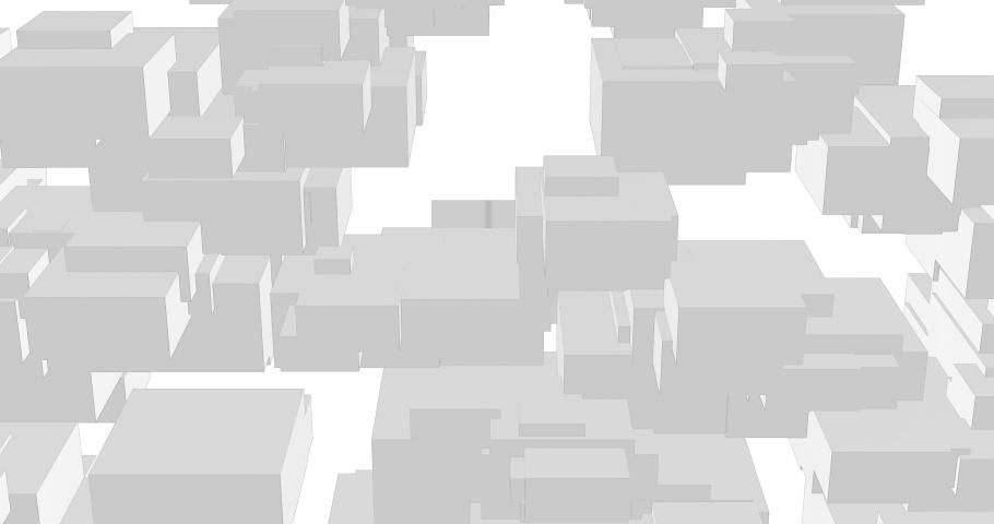 Geometric 3D shape polyhedra create motion on screen   Shutterstock HD Video #1050510544