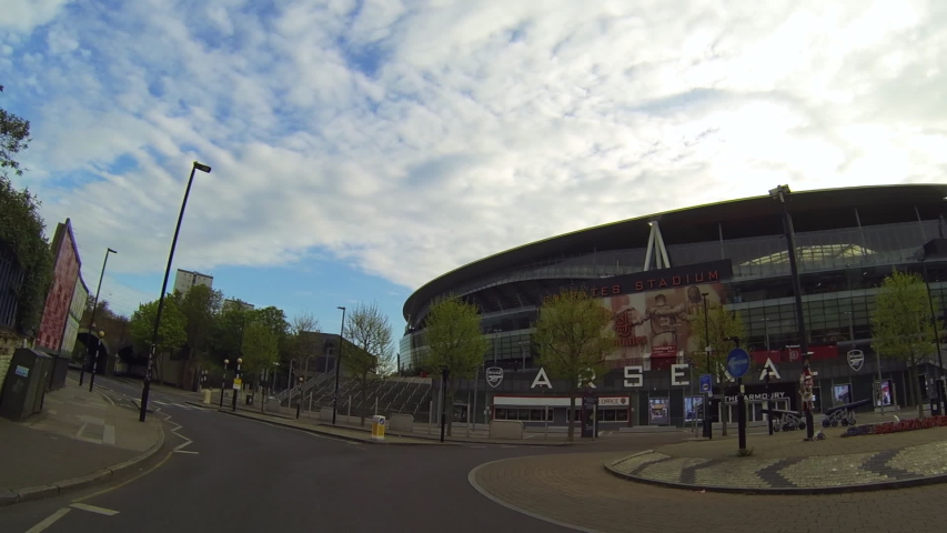 Arsenal Football Stadium Stock Video Footage 4k And Hd Video Clips Shutterstock