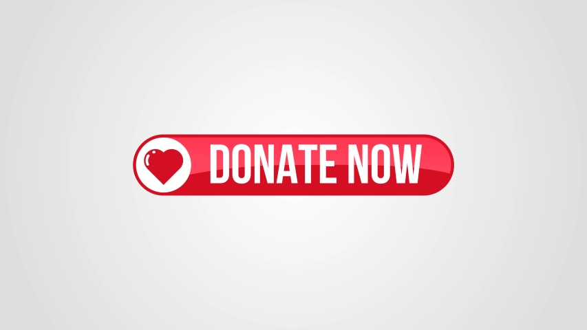 Donate now button with matte. Great for your charity drive to help raise funds for those in need.