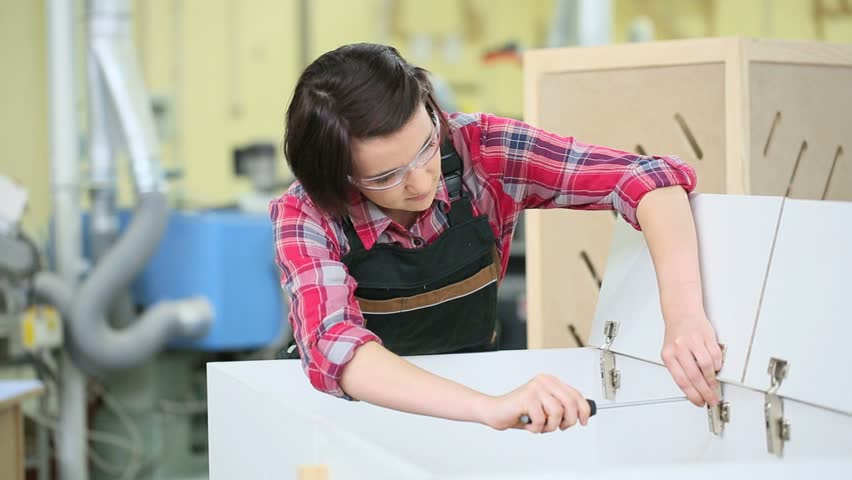 Young Woman In Carpentry Training Stock Footage Video 100 Royalty Free 10510301 Shutterstock