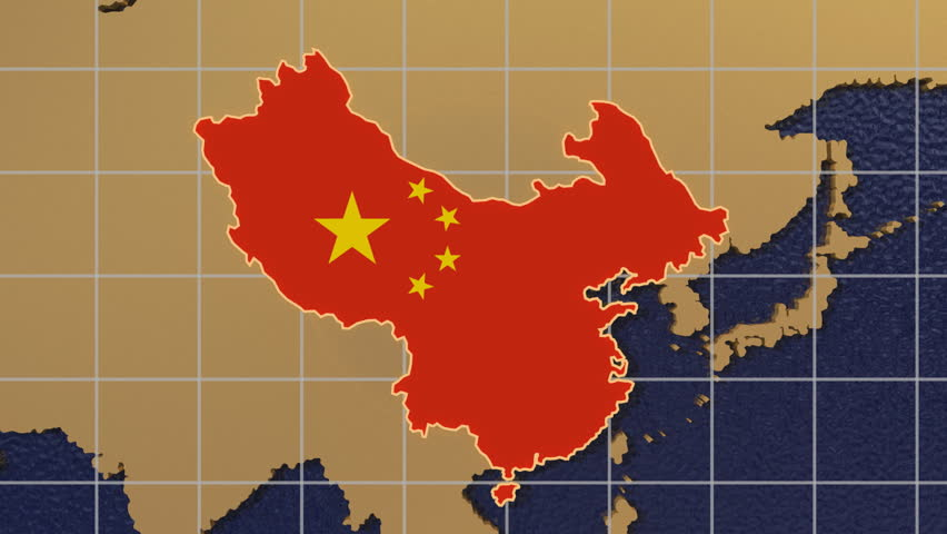 Hd digital animation starts with zoom out from china map textured hd digital animation starts with zoom out from china map textured with flag to folding globe spinning stock footage video 1051390 shutterstock gumiabroncs Gallery