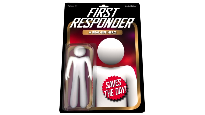 First Responder Action Figure Police Fire Paramedic 3d Animation