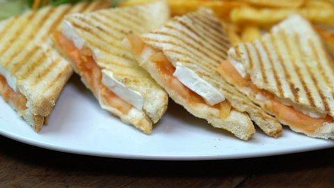 Toasted bread/sandwich kioskhttps://www.shutterstock.com
