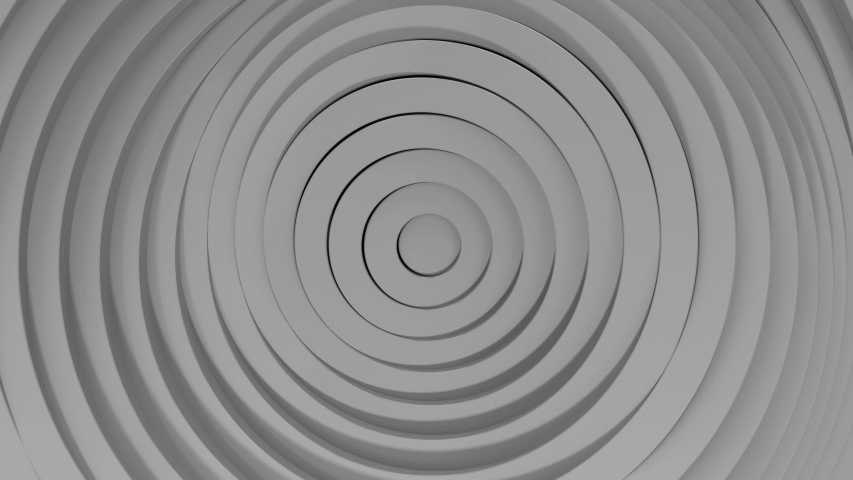 3d abstract concentric circles background seamlessly looping | Shutterstock HD Video #1051823362