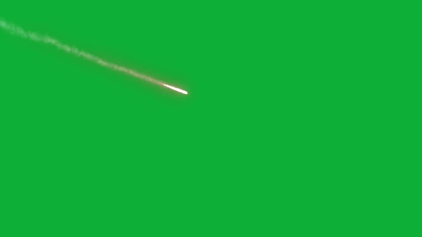 The Best METEORS Animation Package On Green Screen - Realistic Meteorites 4K Chroma key - Easy to use on Space and sky Videos - meteor  Strike With Fire animation