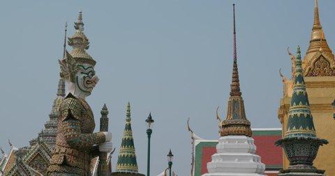 Bangkok, Thailand, 08 April 2020: The Grand Palace