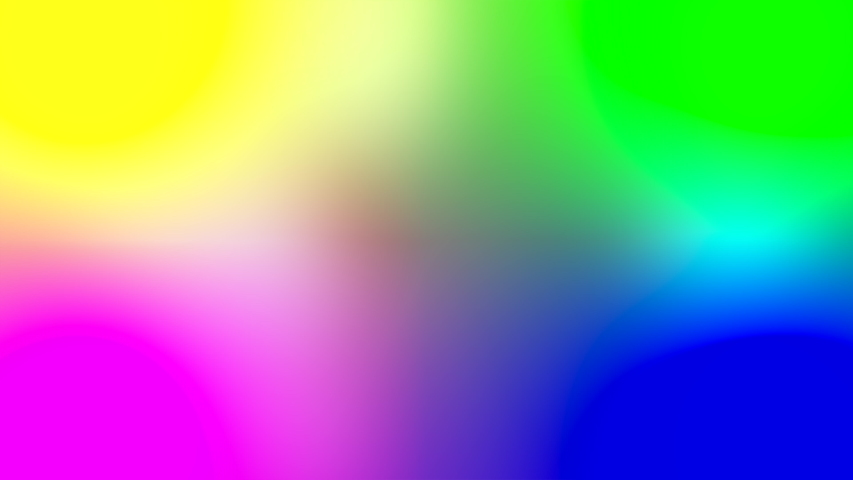 Abstract background with color neon rainbow gradient. Moving abstract blurred background with smooth color transitions. Purple pink blue ultraviolet green yellow | Shutterstock HD Video #1052043577