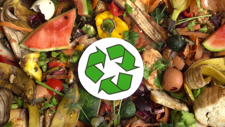 Organic Leftovers, Biowaste, Waste from Stock Footage Video (100%  Royalty-free) 1052426917 | Shutterstock
