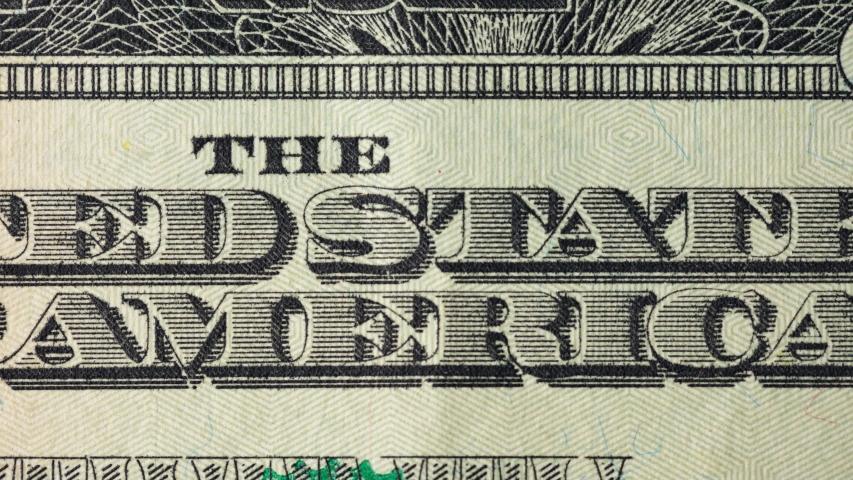 US 20 dollar bill macro money seamless looping. | Shutterstock HD Video #1052694524