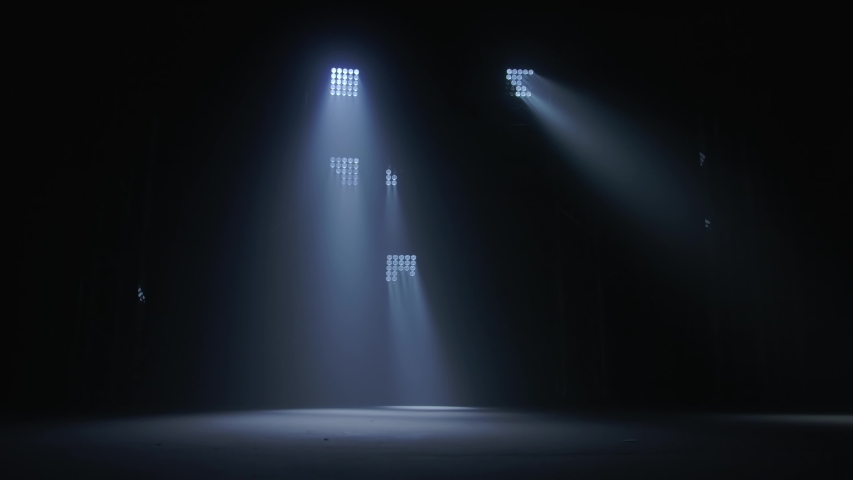 Lighting equipment. Lighting effects. Dynamic strobe light | Shutterstock HD Video #1052736518