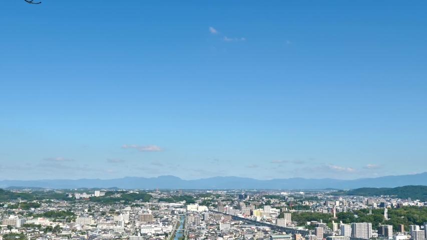 Landscape of Fukuoka city in Japan | Shutterstock HD Video #1052808833