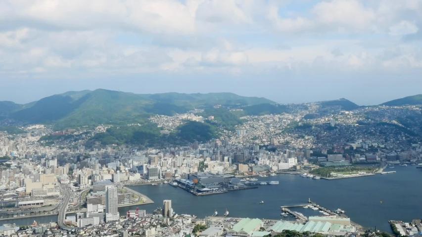 Landscape of Fukuoka city in Japan | Shutterstock HD Video #1052808854